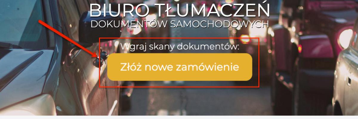 instrukcja proceu zlecenia na stronie tlumaczka.pl